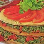 blynu tortas su spinatais