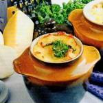 Bulvės keptos puodynėlėse