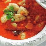 Bulvių sriuba su žuvies kukuliais