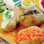 Bulvės su trimis įdarais